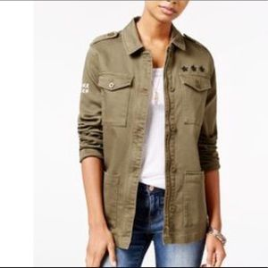 Jessica Simpson military Jacket Officer New